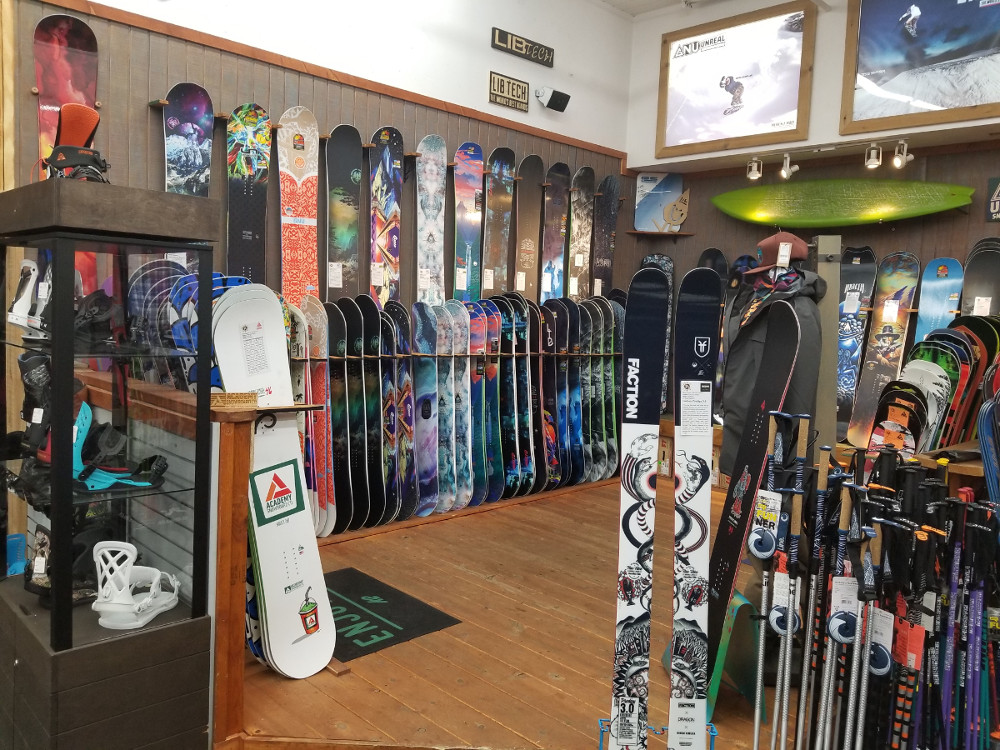 afff278fad Skis-Snowboards-Rentals-Tuning-Clothing-Bikes - P3 Freeride Ski and ...